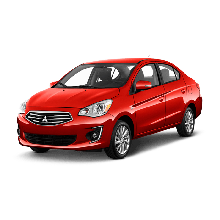 Mitsubishi Mirage G4 Majestic Red