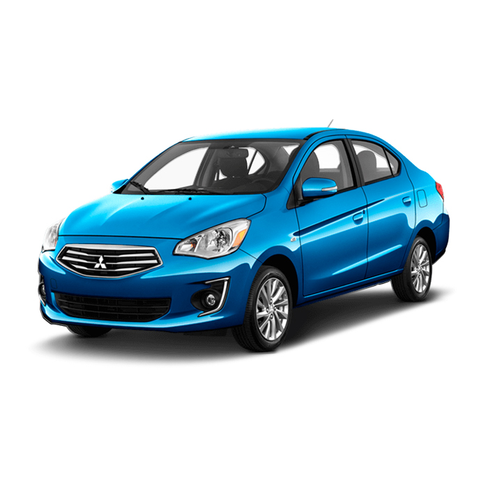 Mitsubishi Mirage G4 Medium Blue Mica