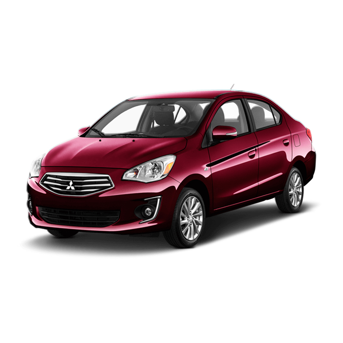 Mitsubishi Mirage G4 Wine Red Pearl