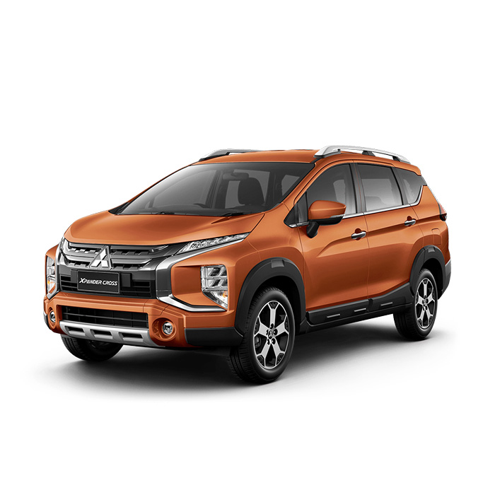 Mitsubishi Xpander Cross Sunrise Orange