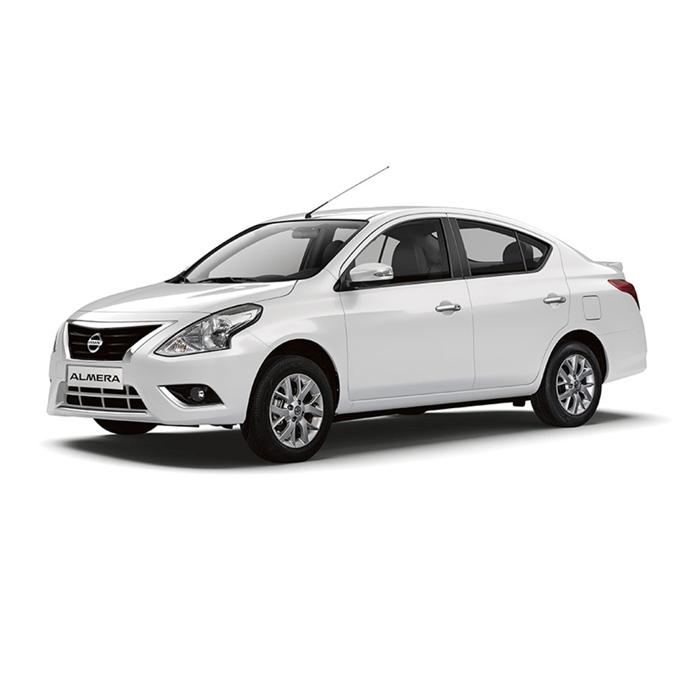 Nissan Almera Alphine White