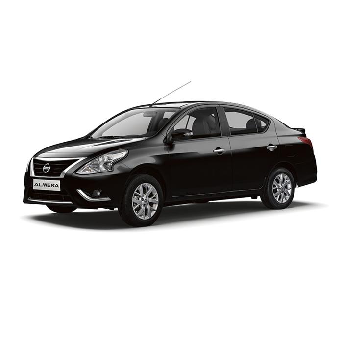 Nissan Almera Bluish Black