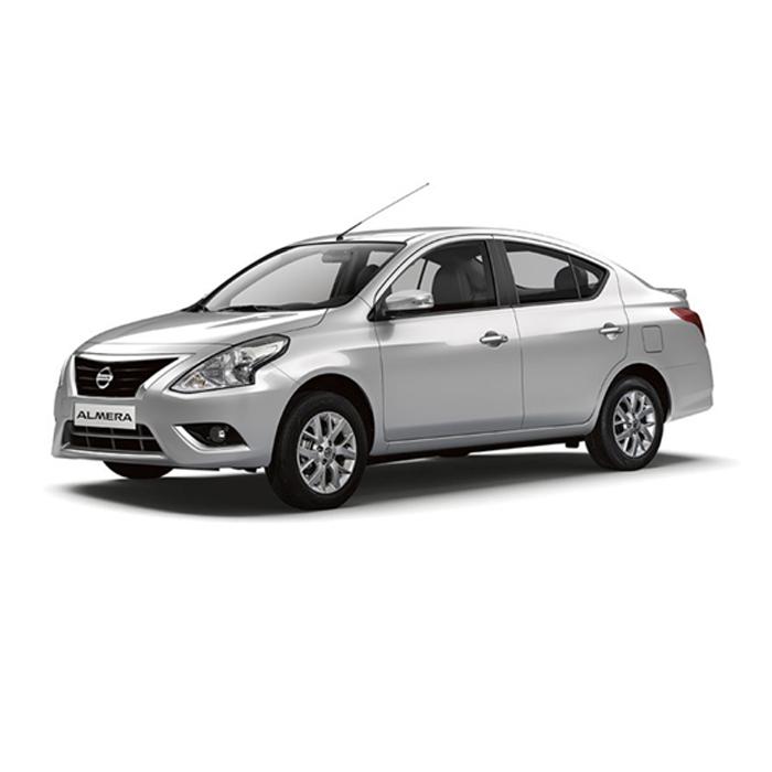 Nissan Almera Brilliant Silver