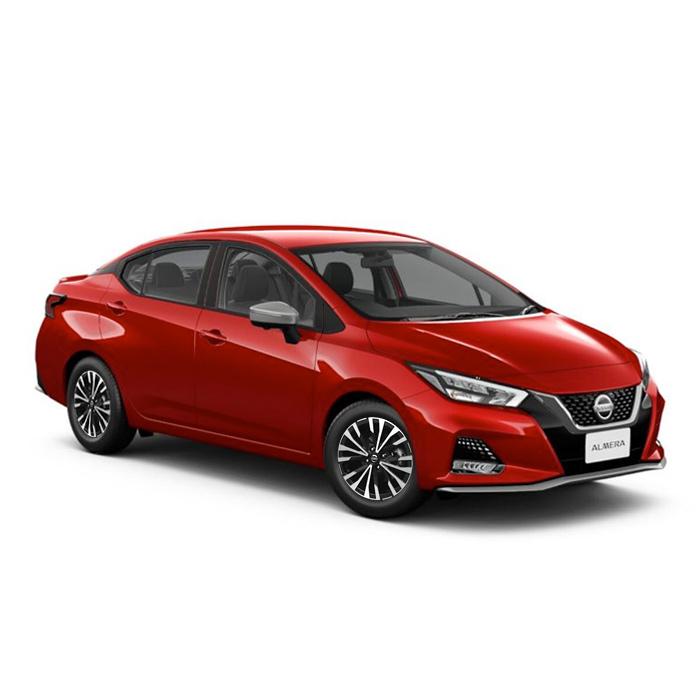 Nissan Almera Cayenee Red