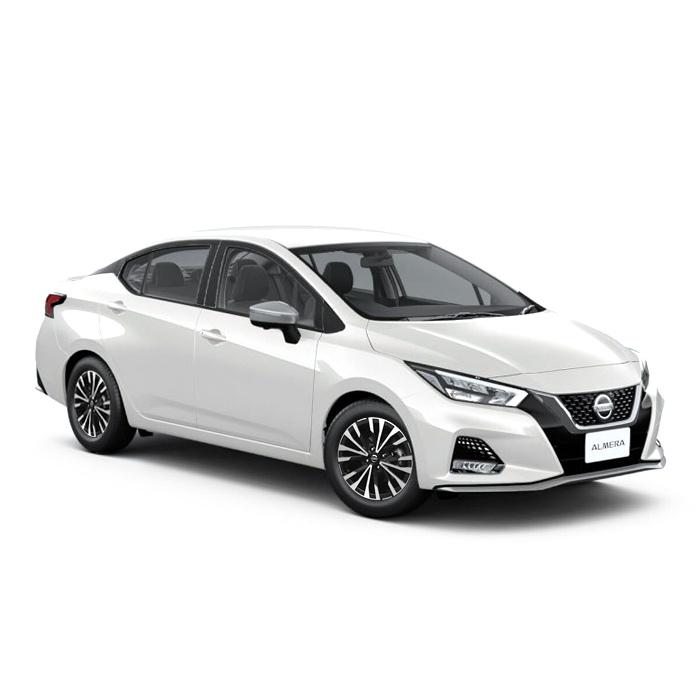 Nissan Almera Pearl White