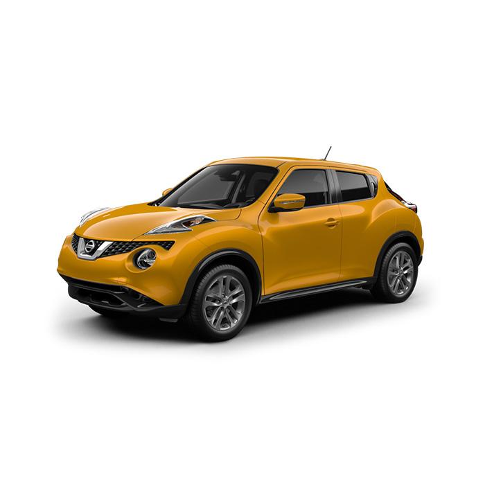 Nissan Juke Solar Yellow