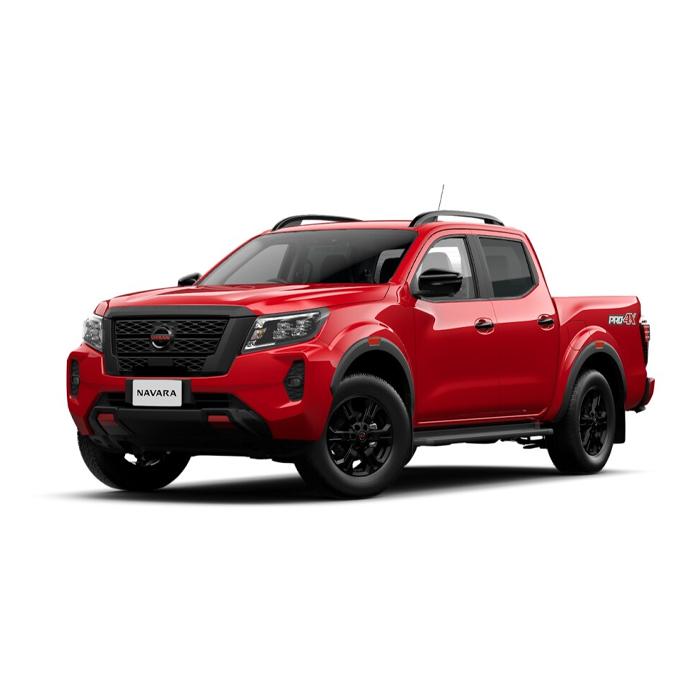 Nissan Navara new PRO-4X 4x4 Fiery Red
