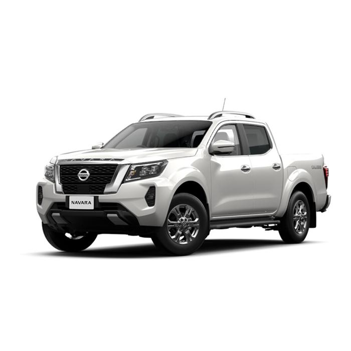 Nissan Navara VE Alpine White