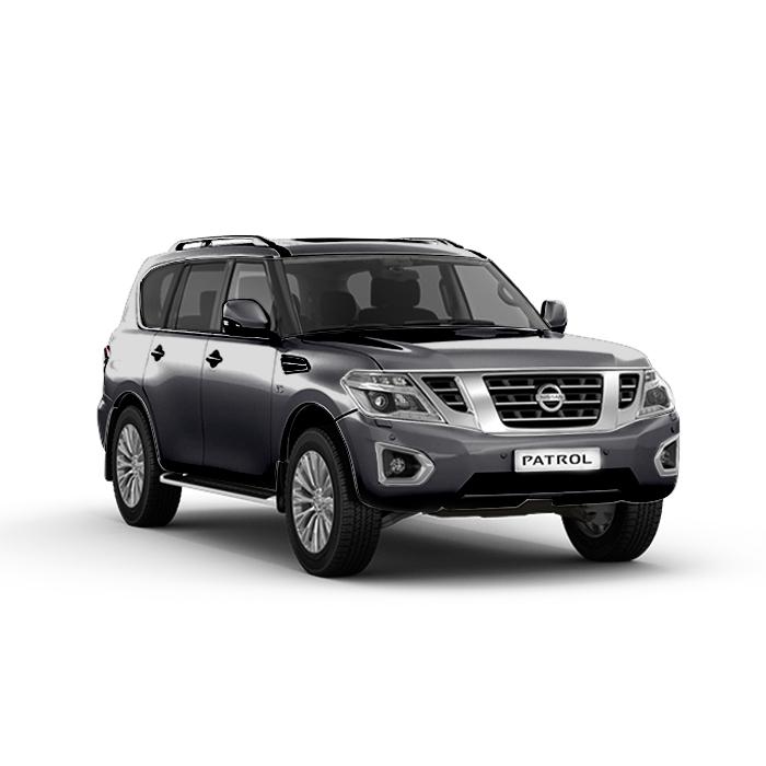 Nissan Patrol Royale Silver