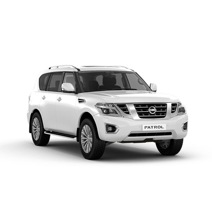 Nissan Patrol Royale White
