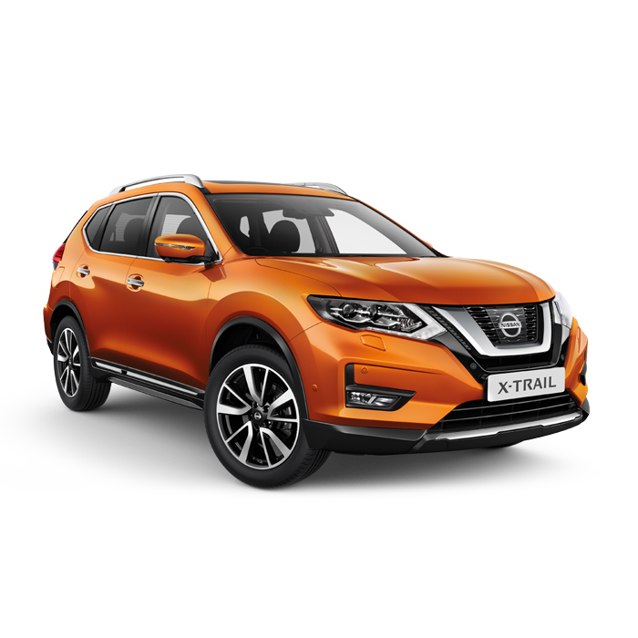 Nissan X-Trail Premium Corona Orange