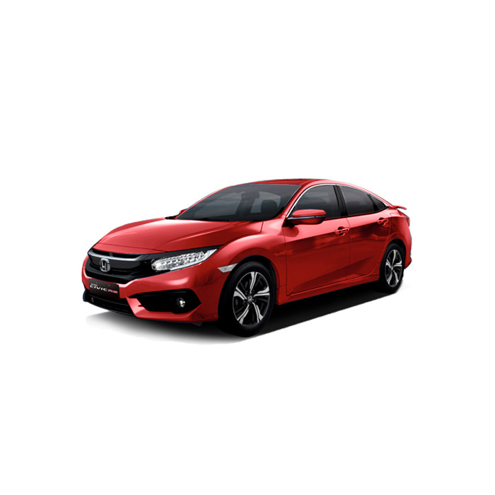 Honda Civic Rally Red