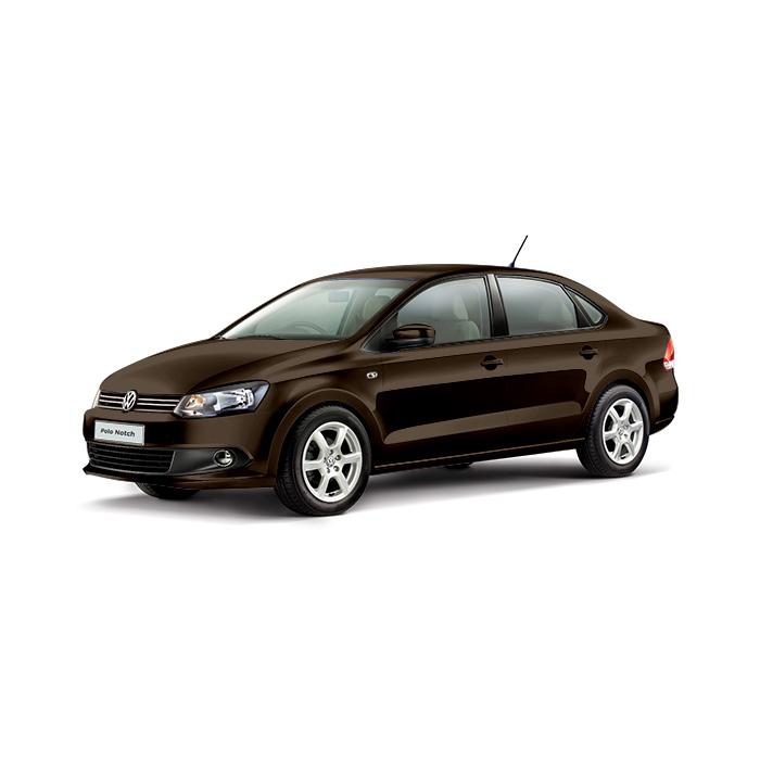 Volkswagen Polo Sedan Toffee Brown