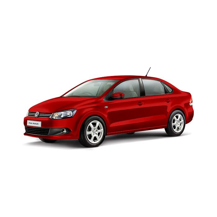 Volkswagen Polo Sedan Flash Red