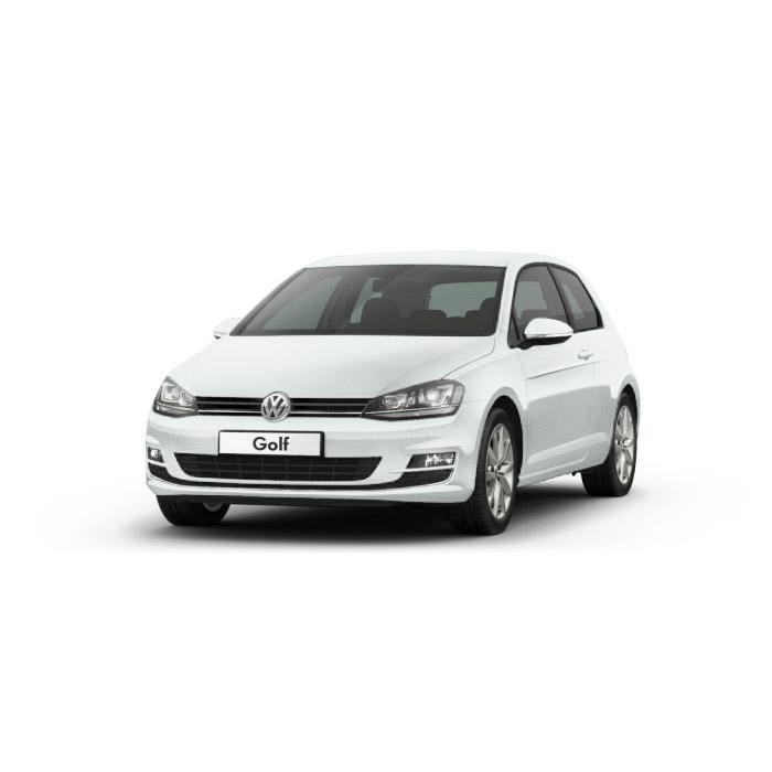Volkswagen Golf Pure White