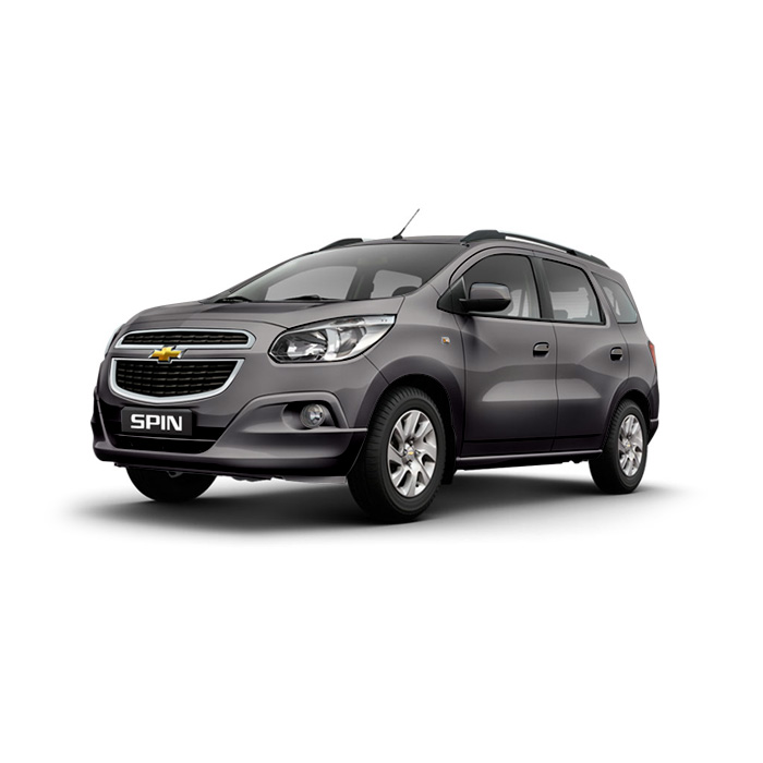 Chevrolet Spin Mond Grey Metallic