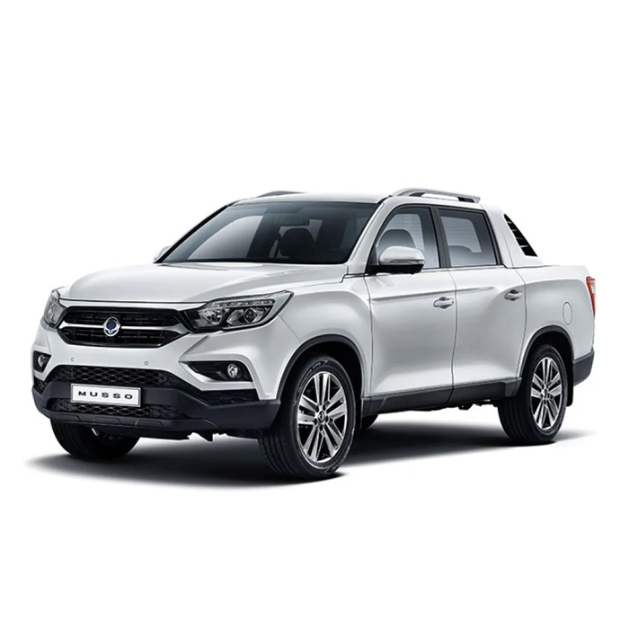 SsangYong Musso Fine Silver