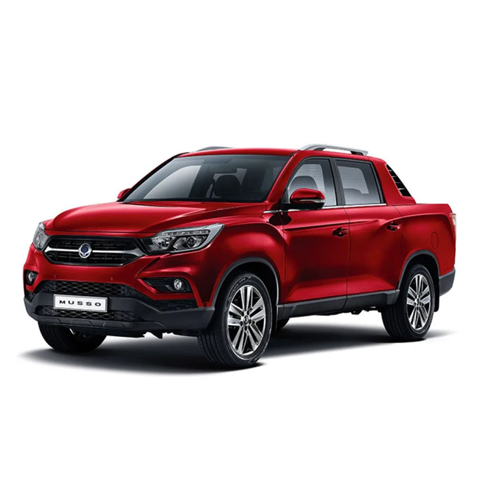 SsangYong Musso Indian Red