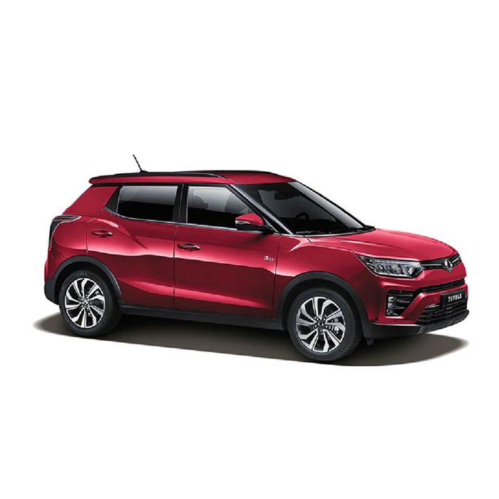 SsangYong Tivoli Cherry Red