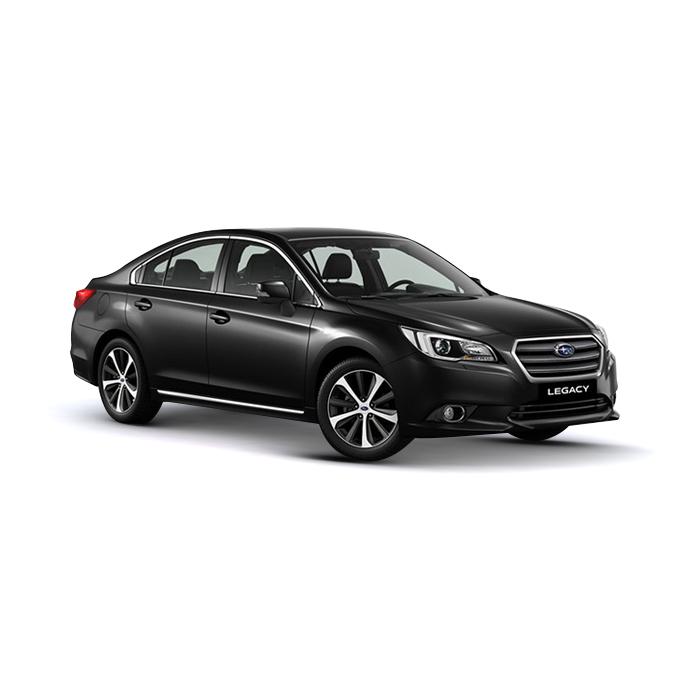 Subaru Legacy Crystal Black Silica