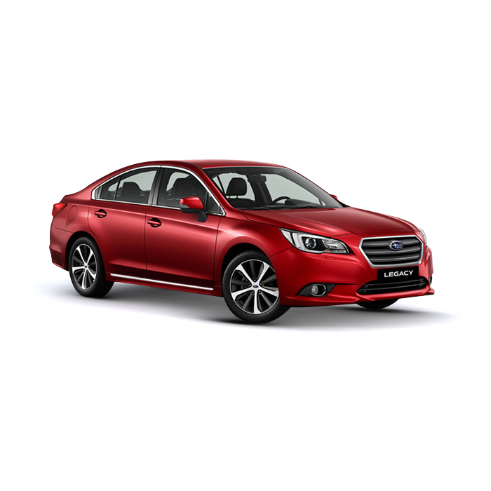 Subaru Legacy Venetian Red