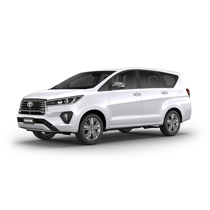 Super White II Toyota Innova