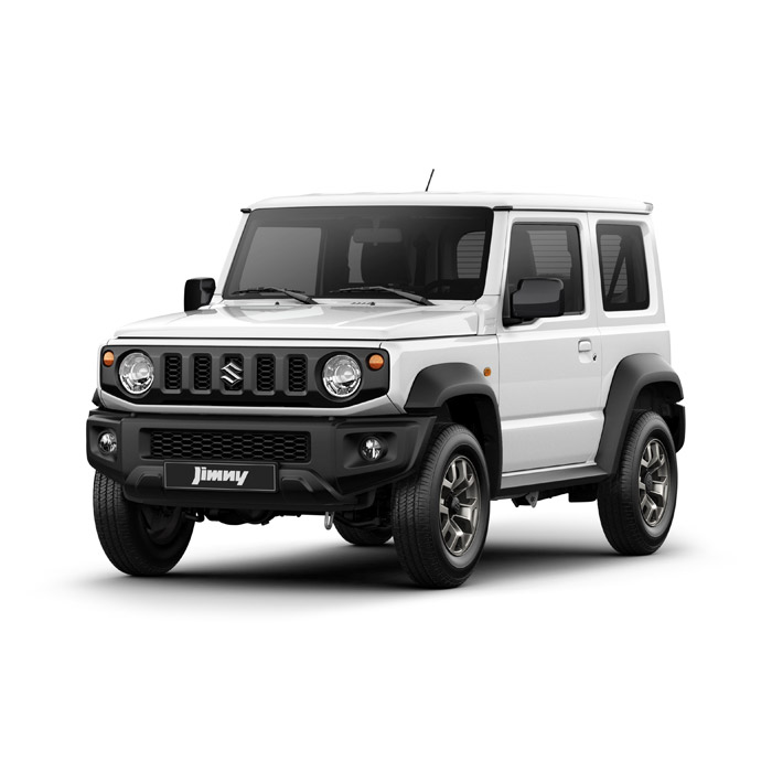 Superior White Jimny