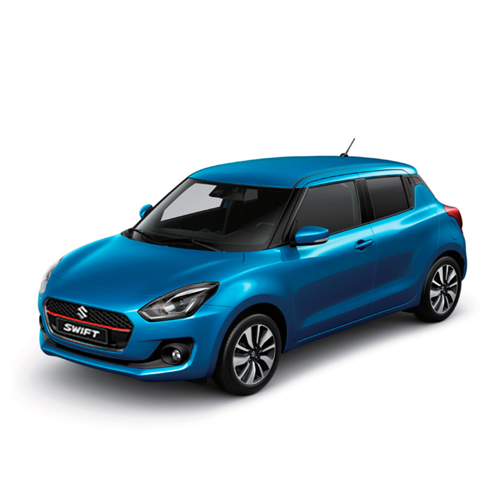 Suzuki Swift Metallic Speed Blue 3 Philippines