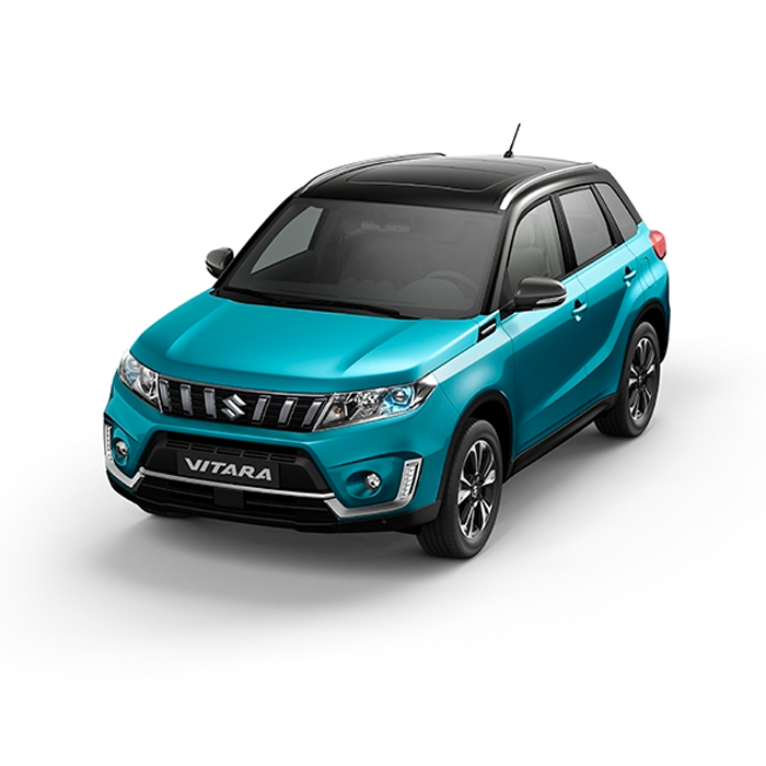 Suzuki Vitara Two-Tone Atlantis Turquoise Pearl Metallic + Cosmic Black Pearl Metallic Philippines