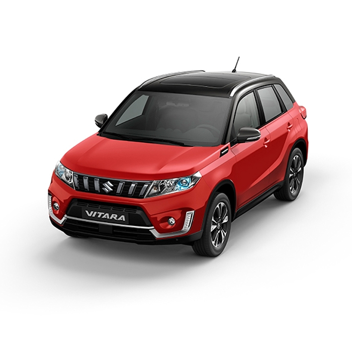 Suzuki Vitara Two-Tone Bright Red Cosmic Black Pearl Metallic Philippines