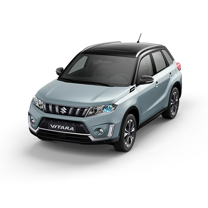 Suzuki Vitara Two-Tone Icy Grayish Blue Metallic + Cosmic Black Pearl Metallic Philippines