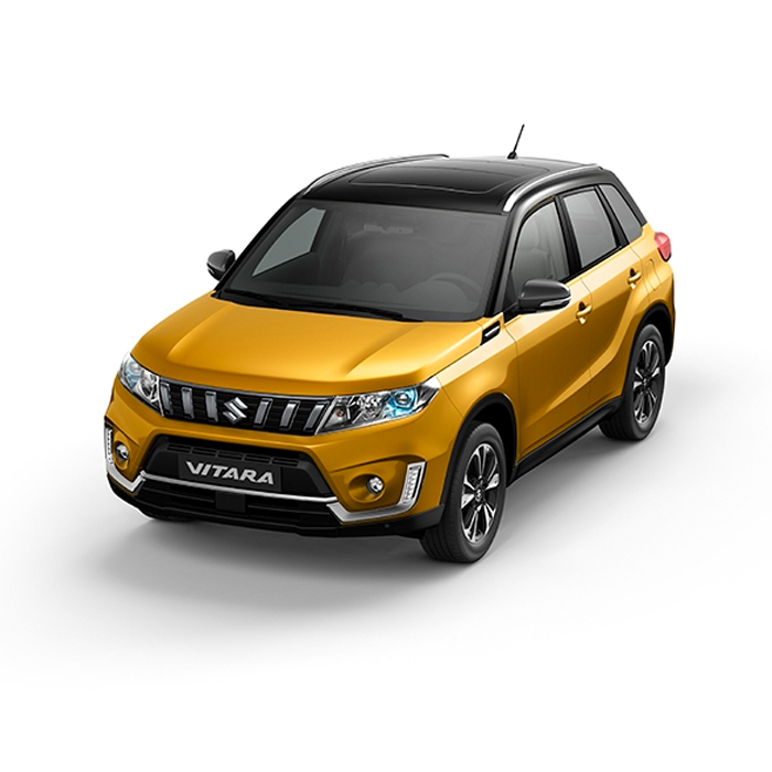 Suzuki Vitara Two-Tone Solar Yellow Pearl Metallic + Cosmic Black Pearl Metallic Philippines