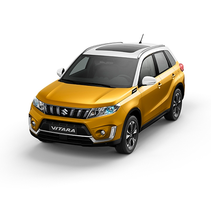 Suzuki Vitara Two-Tone Solar Yellow Pearl Metallic + White Philippines