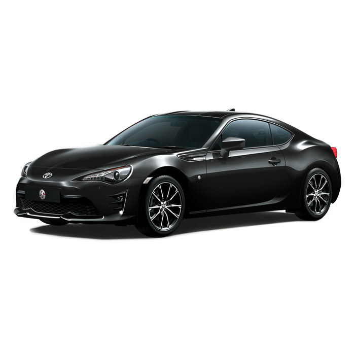 Toyota 86 Dark Gray Metallic