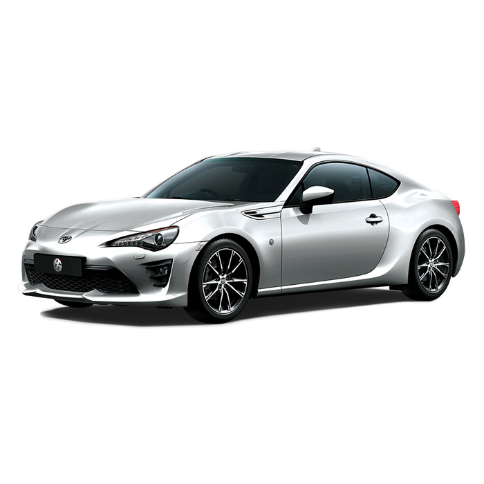 Toyota 86 Ice Silver Metallic