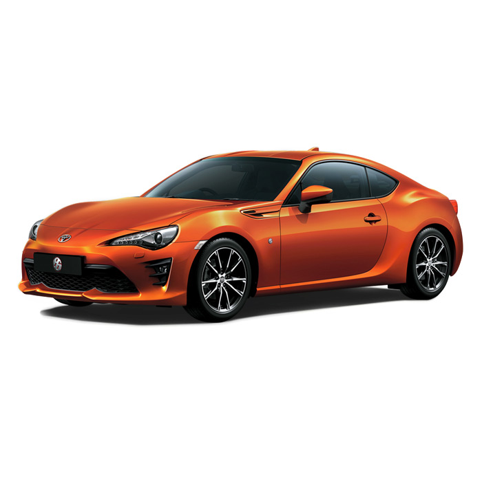 Toyota 86 Orange Metallic
