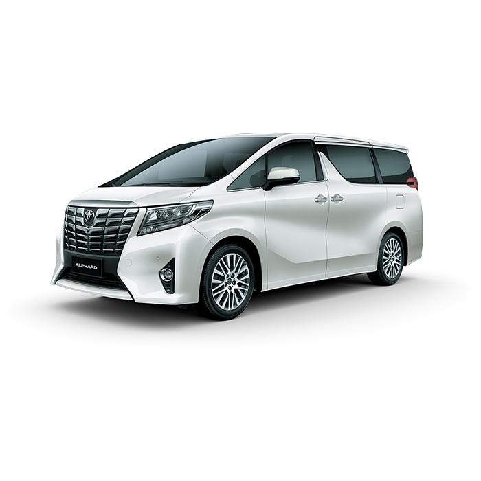 Toyota Alphard Luxury White Pearl Philippines