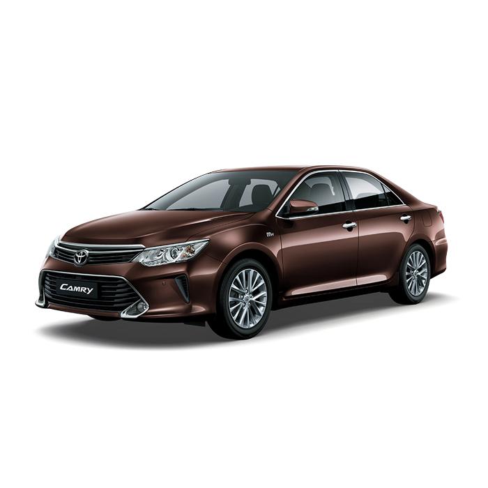 Toyota Camry Dark Brown Metallic