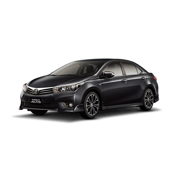 Toyota Corolla Altis Attitude Black Mica