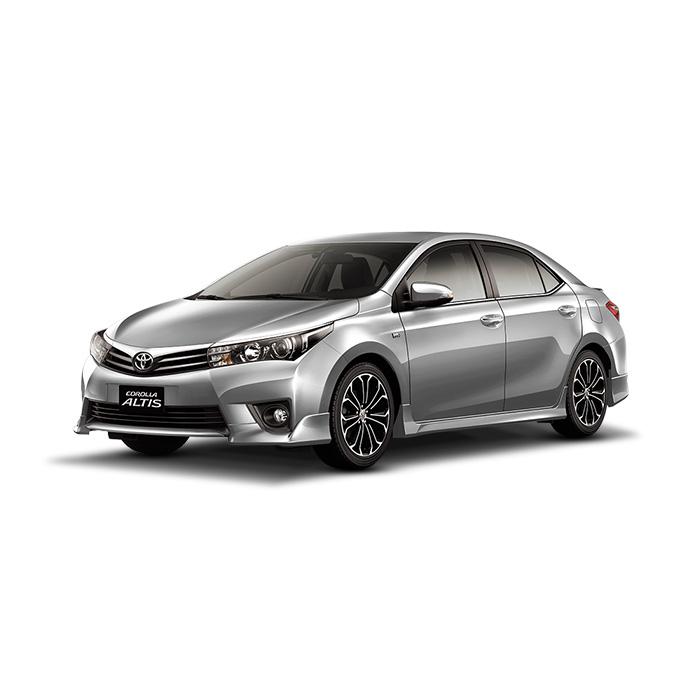 Toyota Corolla Altis Silver Metallic