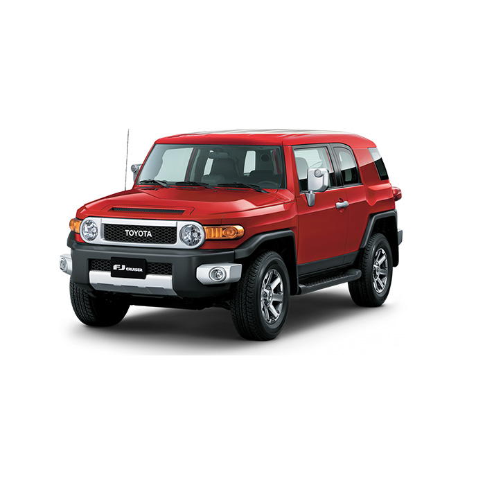 Toyota FJ Cruiser Red Philippines