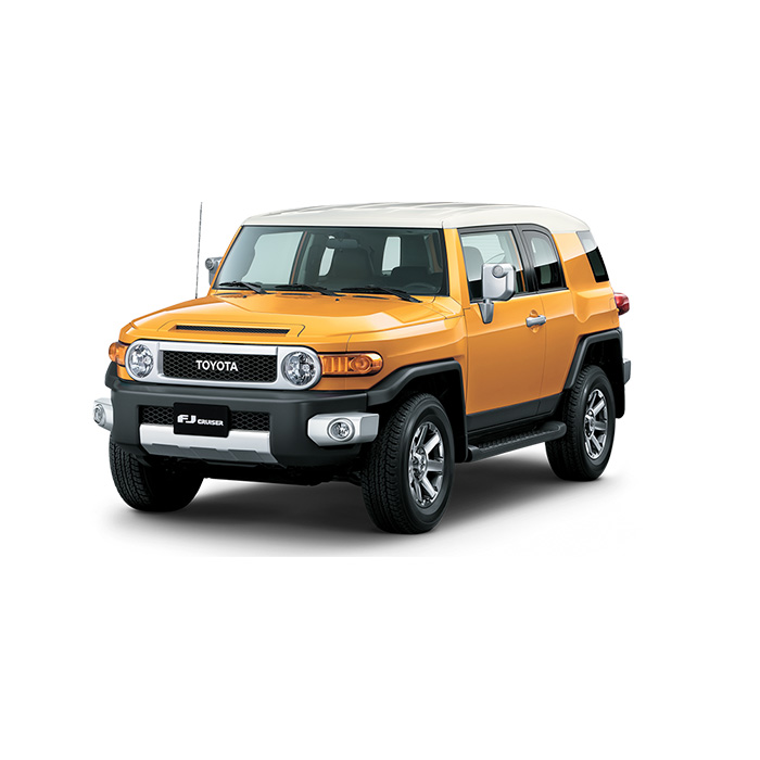 Toyota FJ Cruiser Yellow Philippines