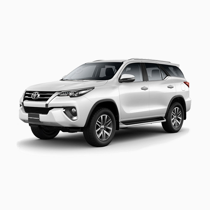 Toyota Fortuner Freedom White