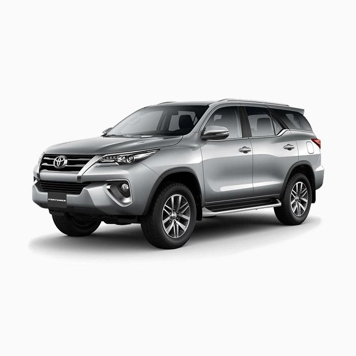 Toyota Fortuner Silver Metallic