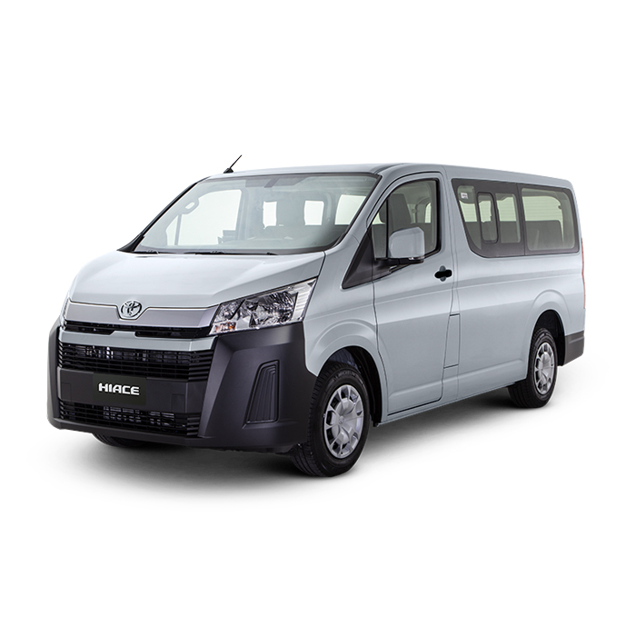 Toyota Hiace Commuter Deluxe Silver Mica Metallic Philippines