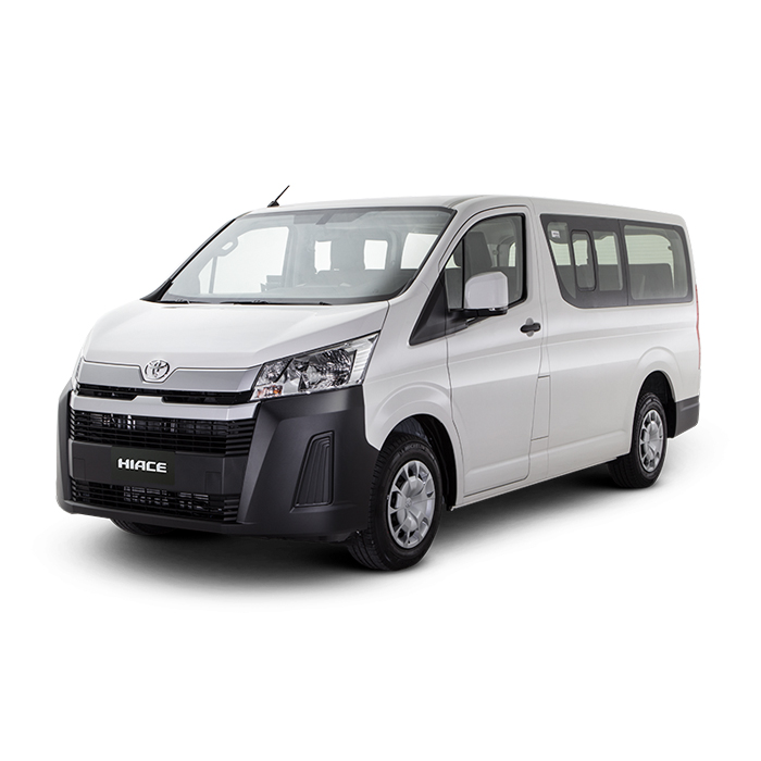 Toyota Hiace Commuter Deluxe White Philippines