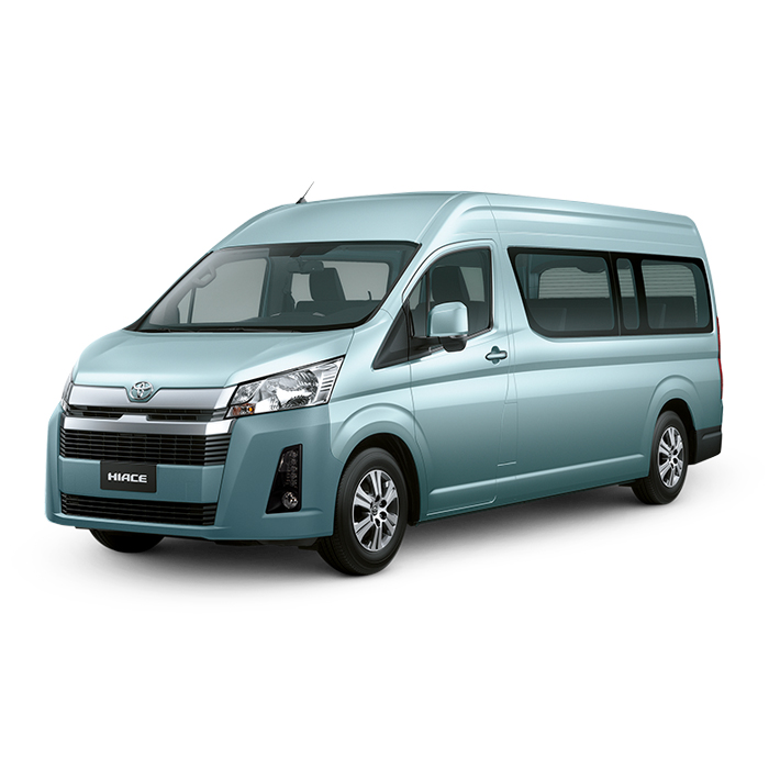 Toyota Hiace GL Grandia Tourer Light Blue Metallic Philippines