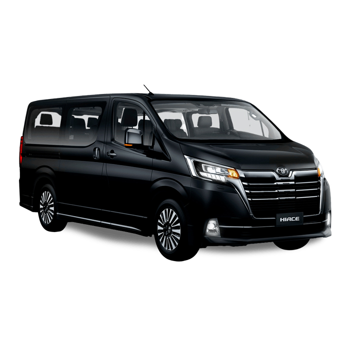 Toyota Hiace Super Grandia Black Philippines