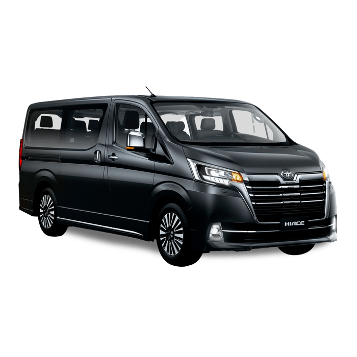 Toyota Hiace Super Grandia Dark Grey Metallic Philippines