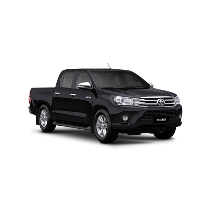 Toyota Hilux Attitude Black Mica